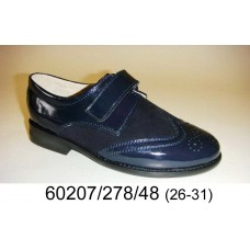 Boys' patent leather school shoes, model 60207-278-48