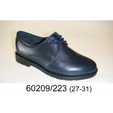 Boys' leather school shoes, model 60209-223